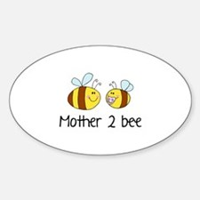 Mommy 2 Bee Sticker (Oval)