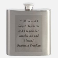 Franklin - Tell Teach Involve Flask