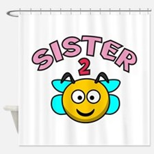 Sister 2 Bee Shower Curtain