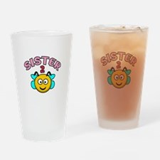 Sister 2 Bee Drinking Glass