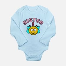 Sister 2 Bee Long Sleeve Infant Bodysuit