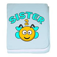 Sister 2 Bee baby blanket