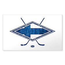 Suomi Jääkiekko Flag Logo Decal