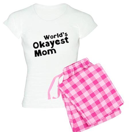 World's Okayest Mom Women's Light Pajamas