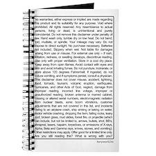 Disclaimer Journal