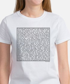 Disclaimer Women's T-Shirt