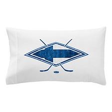 Suomi Jääkiekko Flag Logo Pillow Case