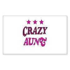 Crazy Aunt Decal