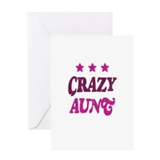 Crazy Aunt Greeting Card
