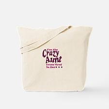 Im the Crazy Aunt Tote Bag