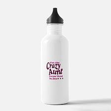 Im the Crazy Aunt Water Bottle