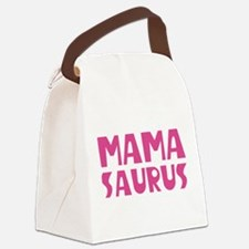 Mamasaurus Canvas Lunch Bag