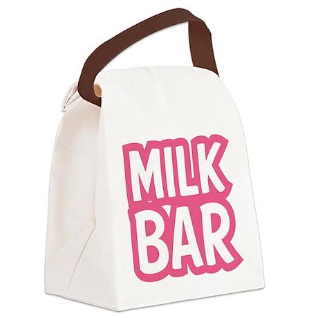 MILK BAR Canvas Lunch Bag