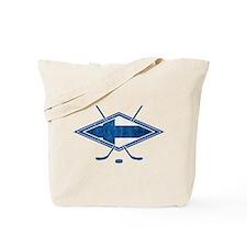 Suomi Jääkiekko Flag Logo Tote Bag