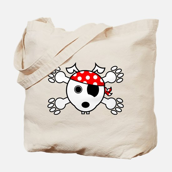 pirate dog Tote Bag