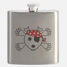 pirate dog Flask