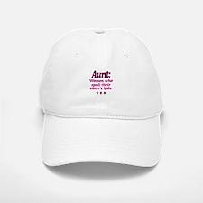 aunt spoils sisters kids Baseball Baseball Baseball Cap