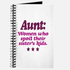 aunt spoils sisters kids Journal