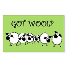 GOT WOOL? Decal
