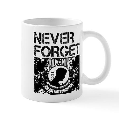 POW/MIA Never Forget Mug
