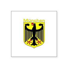 Munchen, Deutschland Rectangle Sticker