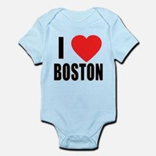I HEART BOSTON Infant Bodysuit