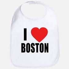 I HEART BOSTON Bib