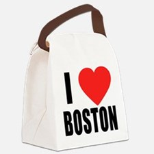 I HEART BOSTON Canvas Lunch Bag