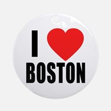 I HEART BOSTON Ornament (Round)