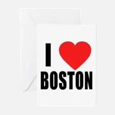 I HEART BOSTON Greeting Cards (Pk of 10)