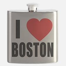 I HEART BOSTON Flask
