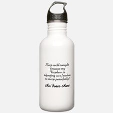 AF Aunt Nephew Sleep Well Water Bottle