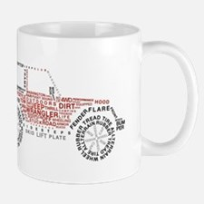 JeepWordsDesign Mug