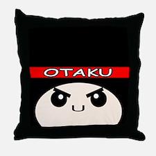 Otaku Ninja Throw Pillow