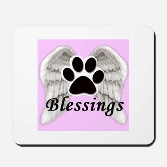 Our Pets are Our Blessings Mousepad