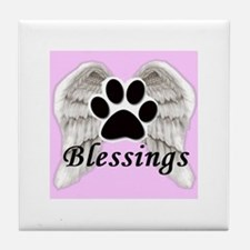 Our Pets are Our Blessings Tile Coaster
