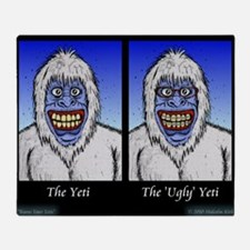 Know Your Yetis Throw Blanket