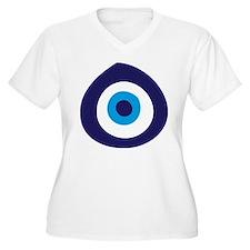 EvilEye.tif Plus Size T-Shirt