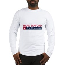 Elect Mark Sanford Long Sleeve T-Shirt