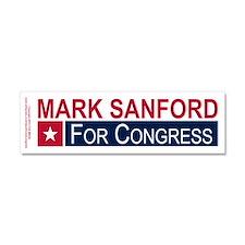 Elect Mark Sanford Car Magnet 10 x 3