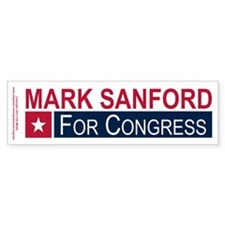 Elect Mark Sanford Bumper Sticker