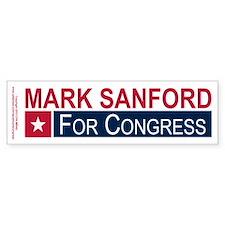 Elect Mark Sanford Bumper Sticker