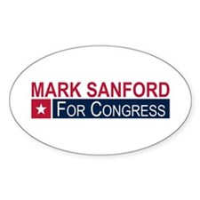 Elect Mark Sanford Decal