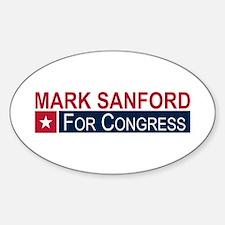 Elect Mark Sanford Decal