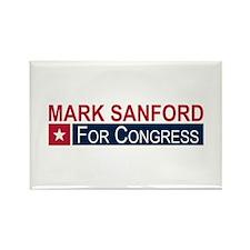 Elect Mark Sanford Rectangle Magnet
