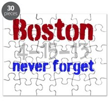 Boston Never Forget Puzzle