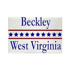 Beckley WV Rectangle Magnet