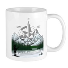 Nature Fly Fishing Mug