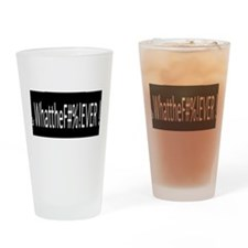 Tude Shirts Drinking Glass