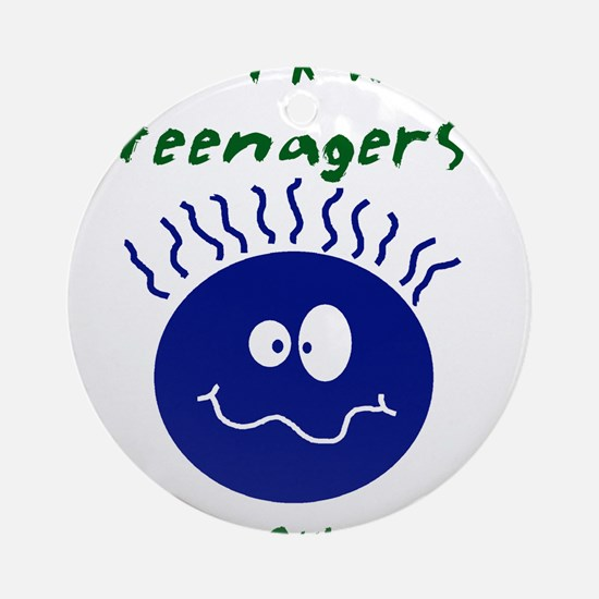 teenagers.png Ornament (Round)